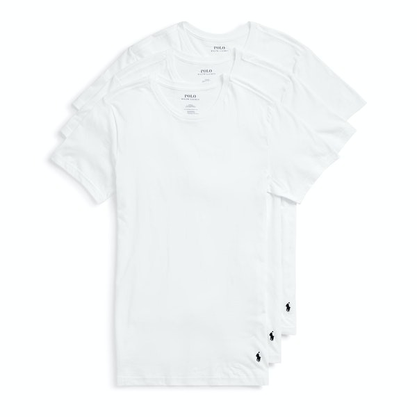 Polo Ralph Lauren 3 Pack Crew Undershirt Loungewear