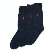 Lauren Ralph Lauren 3 Pack Classic Fashion Socks