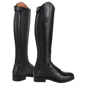 Tredstep Junior Donatello Kids Long Riding Boots - black