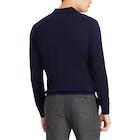 Ralph Lauren Knitted Wool Long Sleeve Polo Shirt