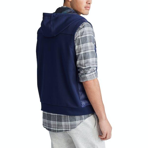 Ralph Lauren Hooded Lightweight Knit Tech Jacket