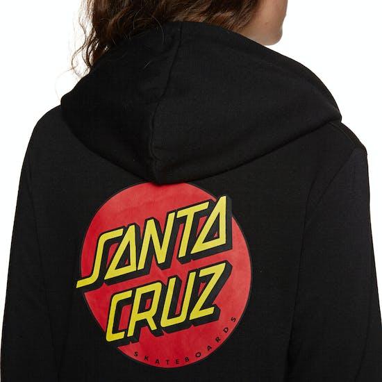 Pullover con Cappuccio Donna Santa Cruz Classic Dot
