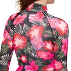 Billabong Flower Long Sleeve Ladies Rash Vest