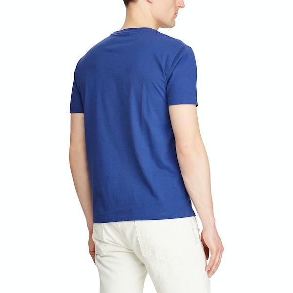 Polo Ralph Lauren Embroidered Cotton Short Sleeve T-Shirt