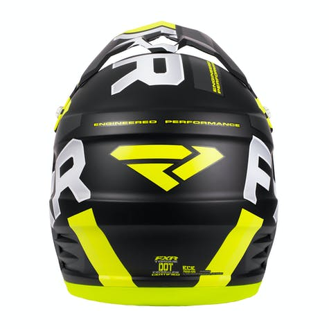 FXR Torque Team Motocross Helmet