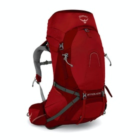 Osprey Atmos AG 50 Hiking Backpack - Rigby Red
