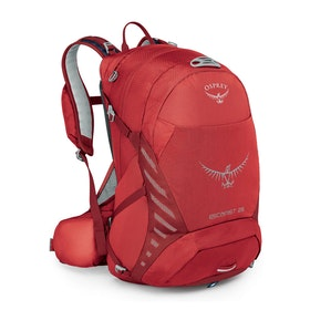 Osprey Escapist 25 Bike Backpack - Cayenne Red