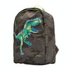 Joules Patchback Backpack - Green Camo Dino