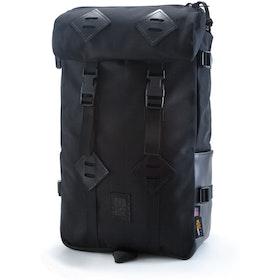 Topo Designs Klettersack 22L Rucksack - Ballistic Black Black Leather