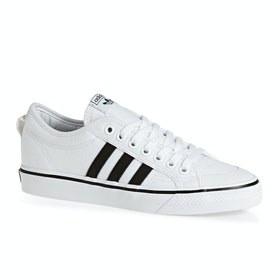 Adidas Originals Nizza Shoes - White Black