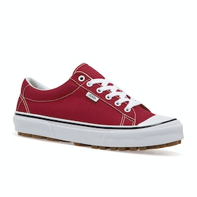 Vans Style 29 Womens Shoes - Racing Red True White