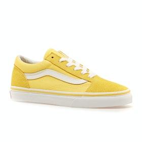 Chaussures Enfant Vans Old Skool - Aspen Gold True White