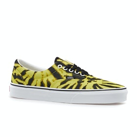 Vans Era Shoes - Tie Dye Blazing Yellow True White