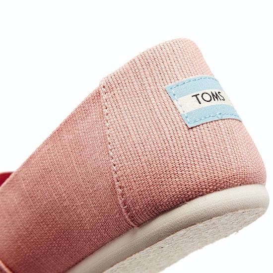 Calzado sin cordones Mujer Toms Essential Canvas