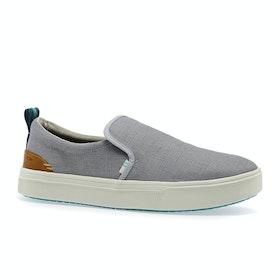 Toms Trvl Lite Slip On Shoes - Grey