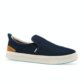 Toms Trvl Lite Slip On Shoes - Navy