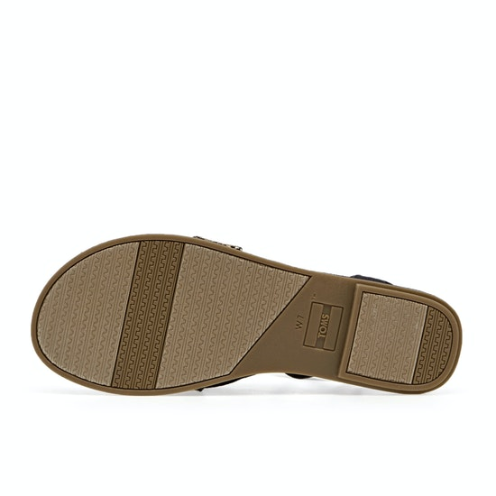 Toms Lexie Woven Canvas Womens Sandals