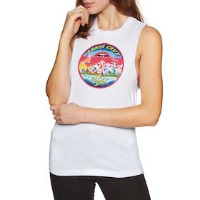 Santa Cruz Invade Womens Tank Vest - White