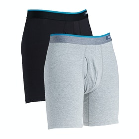Stance Standard Bb 2 Pack Boxer Shorts - Multi