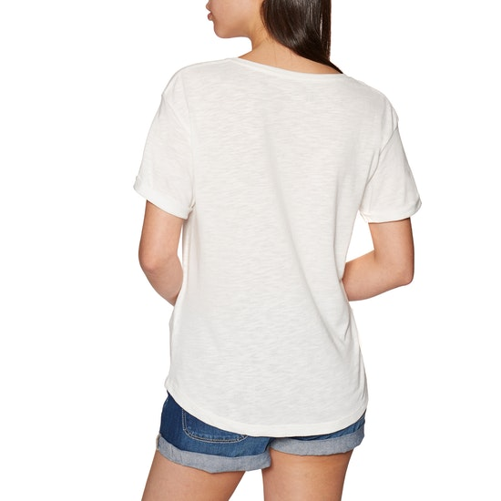 Roxy Follow Me To The Beach A Ladies Short Sleeve T-Shirt