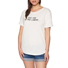 Roxy Follow Me To The Beach D Ladies Short Sleeve T-Shirt
