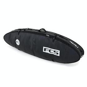 FCS Travel 4 All Purpose , Surfebrettbag - Black Grey