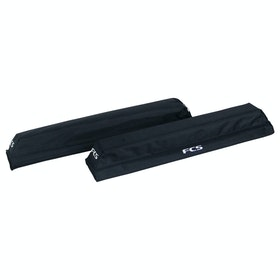FCS Premium SUP Soft Rack Pads for Surfboard Rack - Black