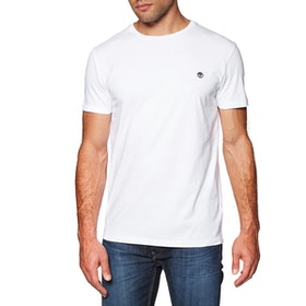 Timberland Dunstan River Crew Slim Men's Short Sleeve T-Shirt - White