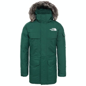 North Face McMurdo Parka Down Jacket - Night Green