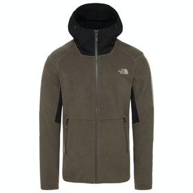 North Face Kabru Zip Hoody - New Taupe Green Tnf Black