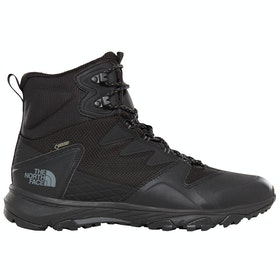 North Face Ultra XC GTX Mid Stiefel - Tnf Black Tnf Black