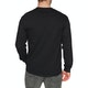 Thrasher Embroidered Outline Long Sleeve T-Shirt