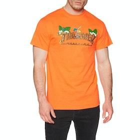Thrasher Tiki Short Sleeve T-Shirt - Safety Orange