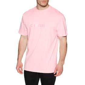 Chrystie Og Logo T Short Sleeve T-Shirt - Apricot