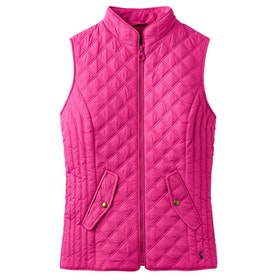 Joules Minx Ladies Gilet - Pink
