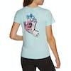 Santa Cruz Screaming Hand Mosiac Womens Short Sleeve T-Shirt - Sky