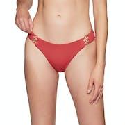 Roxy Solid Softly Love Full Bikini Bottoms