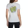 T-Shirt a Manica Corta Donna Santa Cruz Poppy Dot - Athletic Heather