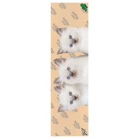 MOB Krux Kitties 9 Inch Skateboard Griptape - Clear