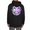 Independent Purple Chrome Pullover Hoody - Black