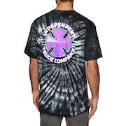 Independent Purple Chrome Short Sleeve T-Shirt
