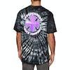 Independent Purple Chrome Short Sleeve T-Shirt - Black Spider Wash