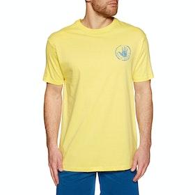 T-Shirt a Manica Corta Body Glove Stamped - Lemon