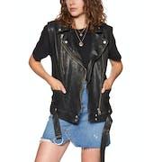 Free People Rita Vest Women's Jacket