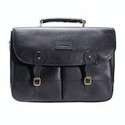 Barbour Leather Briefcase Torba listonoszka