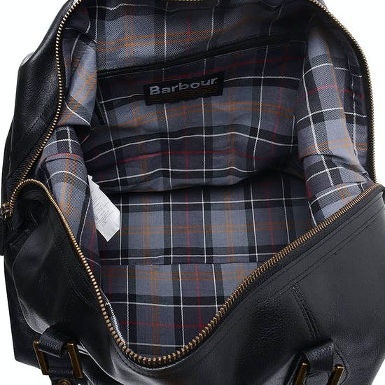 Barbour Leather Travel Explorer Duffle Bag