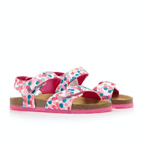 Joules Tippytoes Sandalen - White Fairy Ditsy