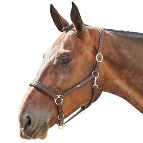 John Whitaker Ready to Ride Head Collar - Brown