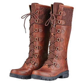 Dublin Fleet Boots Ladies Country Boots - Red Brown