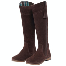 Dublin Kalmar SD Tall Ladies Country Boots - Chocolate